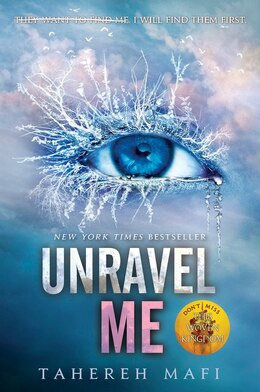 Book Unravel Me by Tahereh Mafi