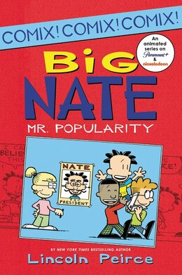 Book Big Nate: Mr. Popularity: Mr. Popularity by Lincoln Peirce