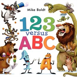 Book 123 Versus ABC by Mike Boldt
