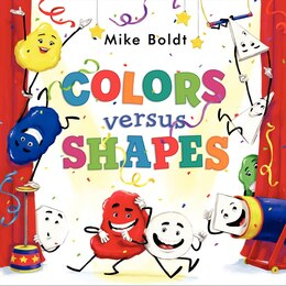 Book Colors Versus Shapes by Mike Boldt