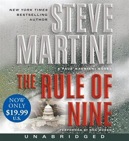 Book The Rule Of Nine Low Price Cd: A Paul Madriani Novel by Steve Martini