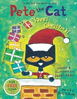 Book Pete the Cat Saves Christmas by Eric Litwin