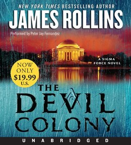 Book The Devil Colony Low Price Cd: A Sigma Force Novel by James Rollins