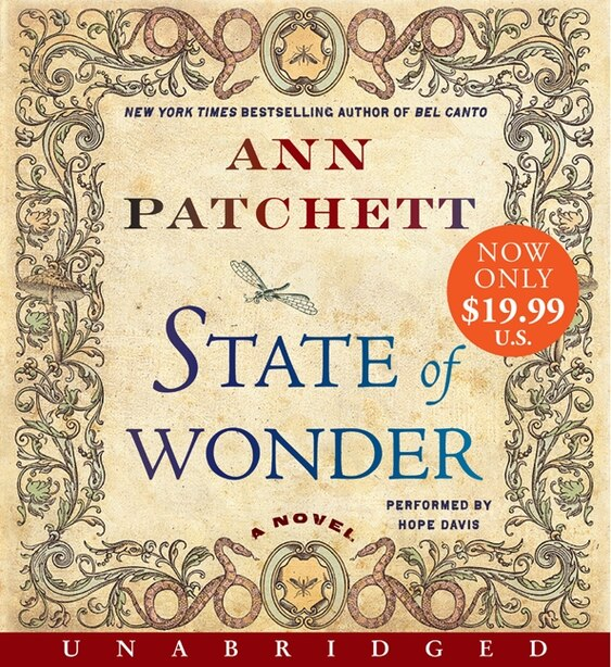 State Of Wonder Low Price Cd: A Novel by Ann Patchett
