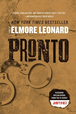 Book Pronto: A Novel by Elmore Leonard