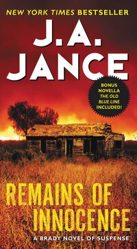 Remains Of Innocence: A Brady Novel Of Suspense