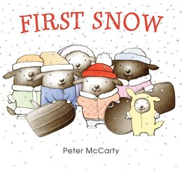 Book First Snow by Peter Mccarty