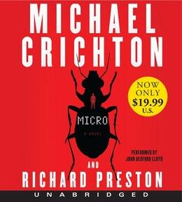 Book Micro Low Price CD: A Novel by Michael Crichton