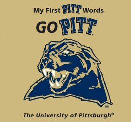 Book My First Pittsburgh Words Go Pitt by Connie Mcnamara