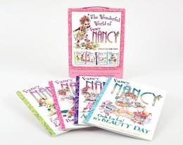 Book Fancy Nancy: The Wonderful World Of Fancy Nancy: 4 Books In 1 Box Set! by Jane O'Connor