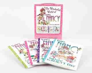 Fancy Nancy: The Wonderful World Of Fancy Nancy: 4 Books In 1 Box Set! by Jane O'Connor