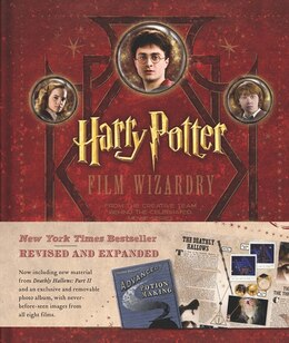Book Harry Potter Film Wizardry Revised And Expanded by Brian Sibley