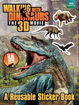 Book Walking With Dinosaurs: A Reusable Sticker Book: A Reusable Sticker Book by Jane Stevens