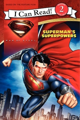 Book Man of Steel: Superman's Superpowers by Lucy Rosen