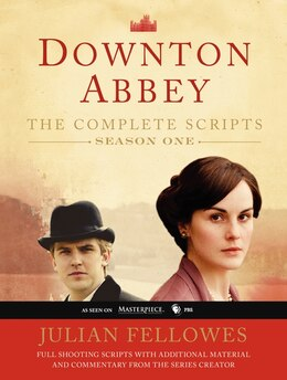 Book Downton Abbey Script Book Season 1 by Julian Fellowes
