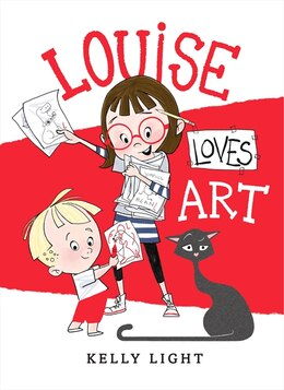 Book Louise Loves Art by Kelly Light