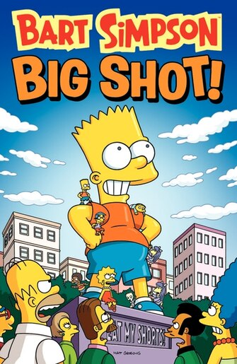 Bart Simpson Big Shot by Matt Groening