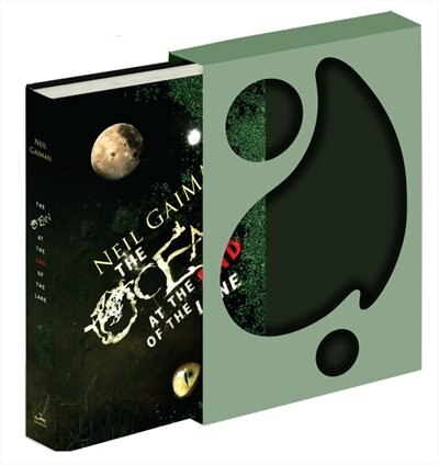 The Ocean At The End Of The Lane Deluxe Signed Edition: A Novel by Neil Gaiman