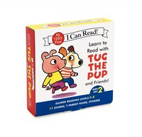 Learn To Read With Tug The Pup And Friends! Box Set 2: Levels Included: C-e