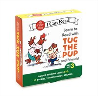 Learn To Read With Tug The Pup And Friends! Box Set 3: Levels Included: E-g