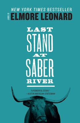 Book Last Stand At Saber River by Elmore Leonard