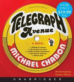 Book Telegraph Avenue Low Price Cd: A Novel by Michael Chabon