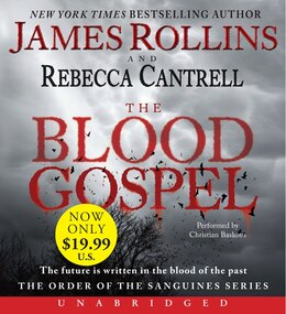 Book The Blood Gospel Low Price Cd: The Order Of The Sanguines Series by James Rollins