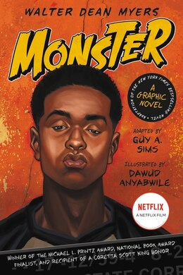Book Monster: A Graphic Novel: A Graphic Novel by Walter Dean Myers