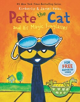 Book Pete The Cat And His Magic Sunglasses by James Dean