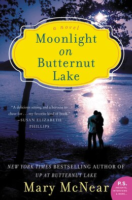 Book Moonlight On Butternut Lake: A Novel by Mary Mcnear