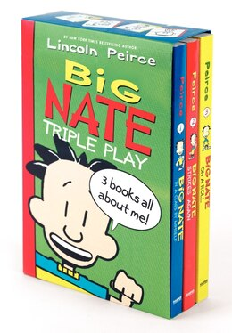 Book Big Nate Triple Play Box Set: Big Nate: In A Class By Himself, Big Nate Strikes Again, Big Nate On… by Lincoln Peirce