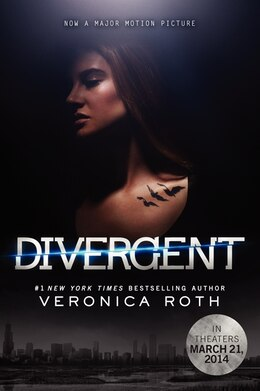 Book Divergent Movie Tie-In Edition by Veronica Roth