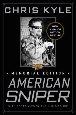 Book American Sniper: Memorial Edition by Chris Kyle