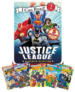 Book Justice League Reading Collection: 5 I Can Read Books Inside! by Various