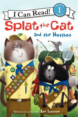 Book Splat The Cat And The Hotshot by Rob Scotton