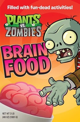 Book Plants Vs. Zombies: Brain Food: Brain Food by Brandon T. Snider
