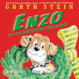 Book Enzo And The Christmas Tree Hunt! by Garth Stein