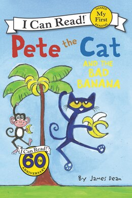 Book Pete The Cat And The Bad Banana by James Dean