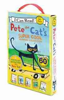 Pete The Cat's Super Cool Reading Collection by James Dean