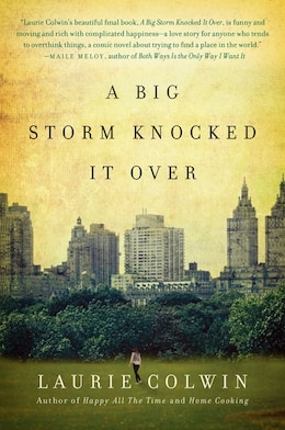Book A Big Storm Knocked It Over: A Novel by Laurie Colwin