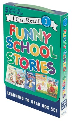 Book Funny School Stories: Learning to Read Box Set: 5 Fun-Filled Adventures! by Various
