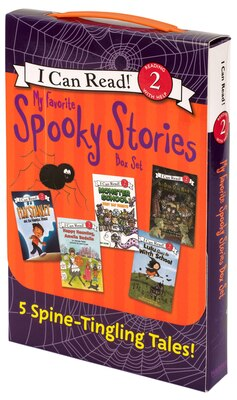 Book My Favorite Spooky Stories Box Set: 5 Silly, Not-Too-Scary Tales! by Various