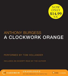 Book A Clockwork Orange Low Price Cd by Anthony Burgess