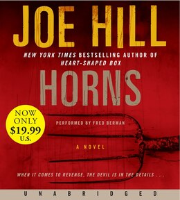 Book Horns Low Price Cd: A Novel by Joe Hill