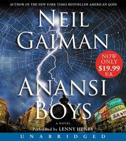 Book Anansi Boys Low Price Cd by Neil Gaiman