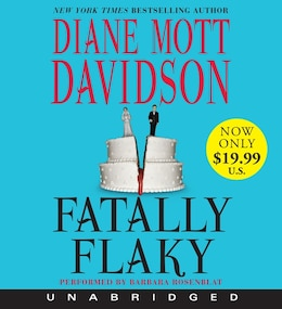 Book Fatally Flaky Low Price Cd by Diane Mott Davidson