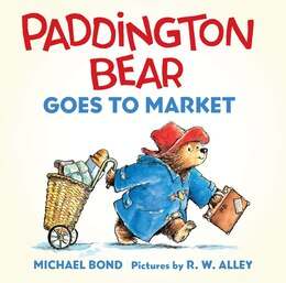 Book Paddington Bear Goes To Market Board Book by Michael Bond