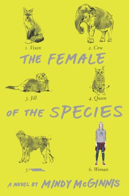 Book The Female of the Species by Mindy Mcginnis