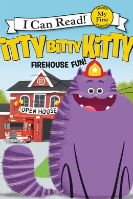 Book Itty Bitty Kitty: Firehouse Fun by Joan Holub