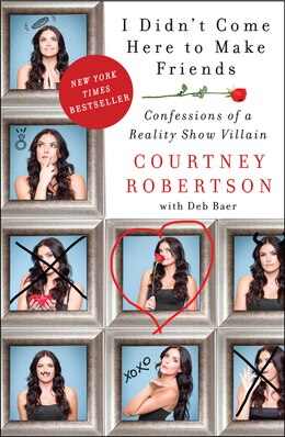 Book I Didn't Come Here To Make Friends: Confessions Of A Reality Show Villain by Courtney Robertson
